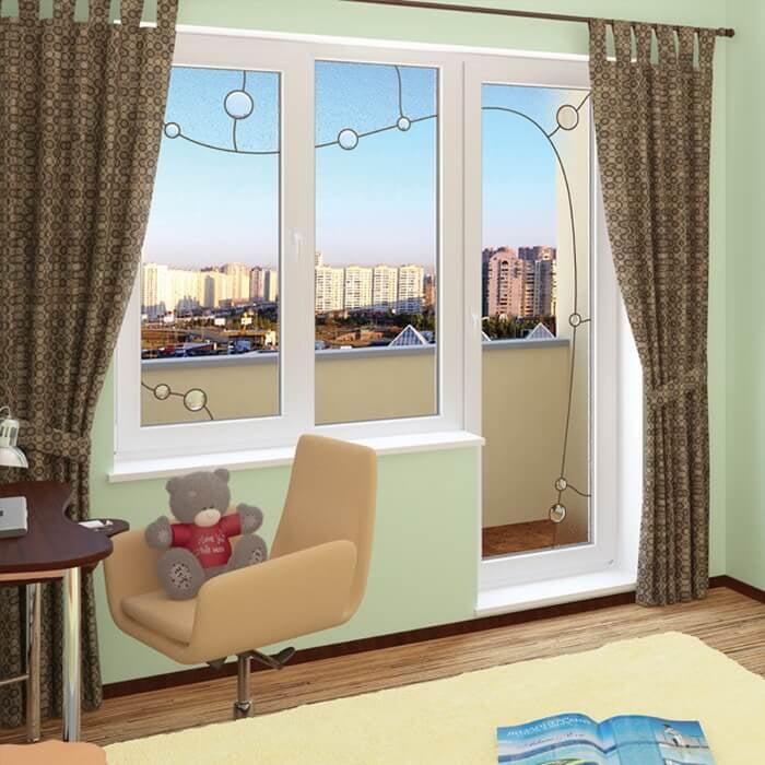 Балконные двери дизайн картинки